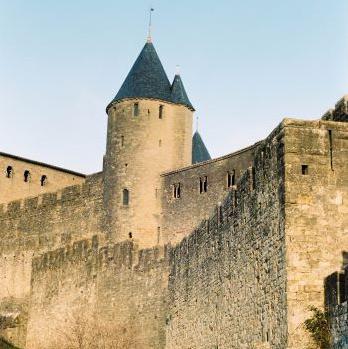 Hommes à Carcassonne