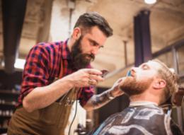 Barbier et rasage
